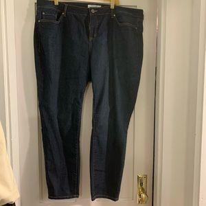 Torrid dark wash curvy skinny 22Short jeans